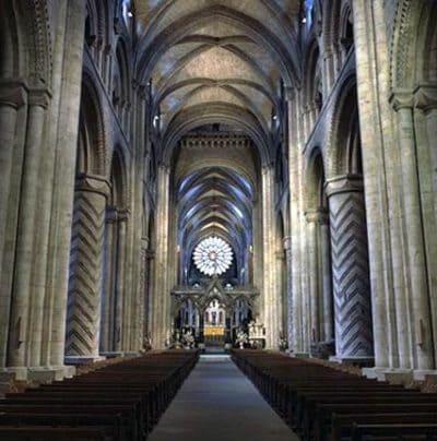 Inside Durham Cathedral - Sunderland and Wearside Community