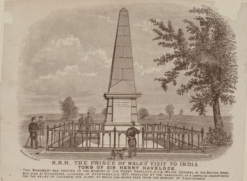 Tomb and resting place of Major General Sir Henry Havelock