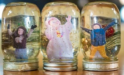 Home Made Snow Globes - Activities and crafts for children