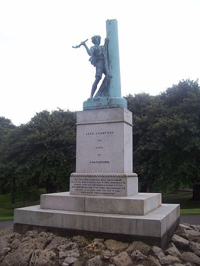 Jack Crawford statue Mowbray Park