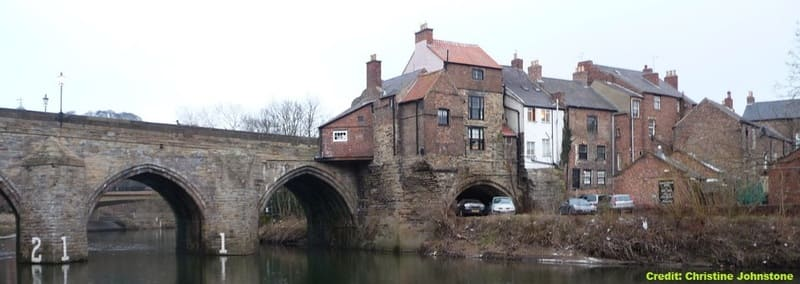 Old Elvet Bridge, Durham, UK - Ghost of Jimmy Allem