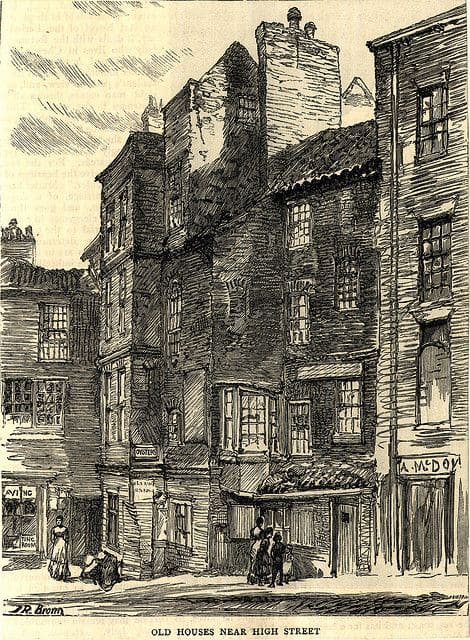 Image of old Sunderland near High Street