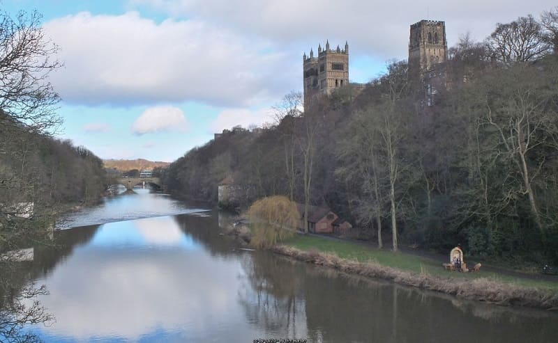 County Durham - River Wear and Cathedral