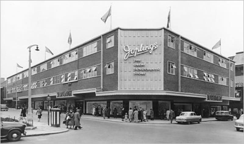 Department Stores in Sunderland and on Wearside - Joplings John Street