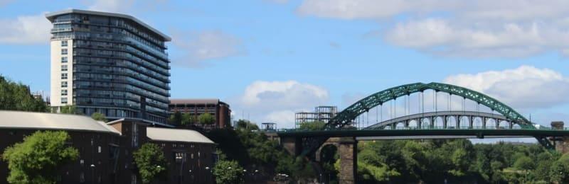 Echo 24 building near the Monkwearmouth Bridge in Sunderland - Wearside community website