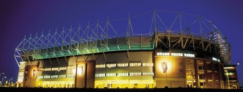 Night view of The Stadium of Light - Black Cats Chat - we are Ready To Go