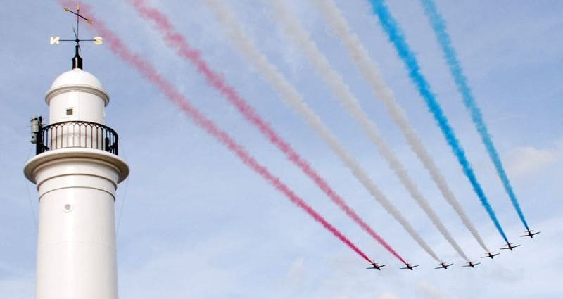 Sunderland International Air Show At Seaburn - Red Arrow Display Team